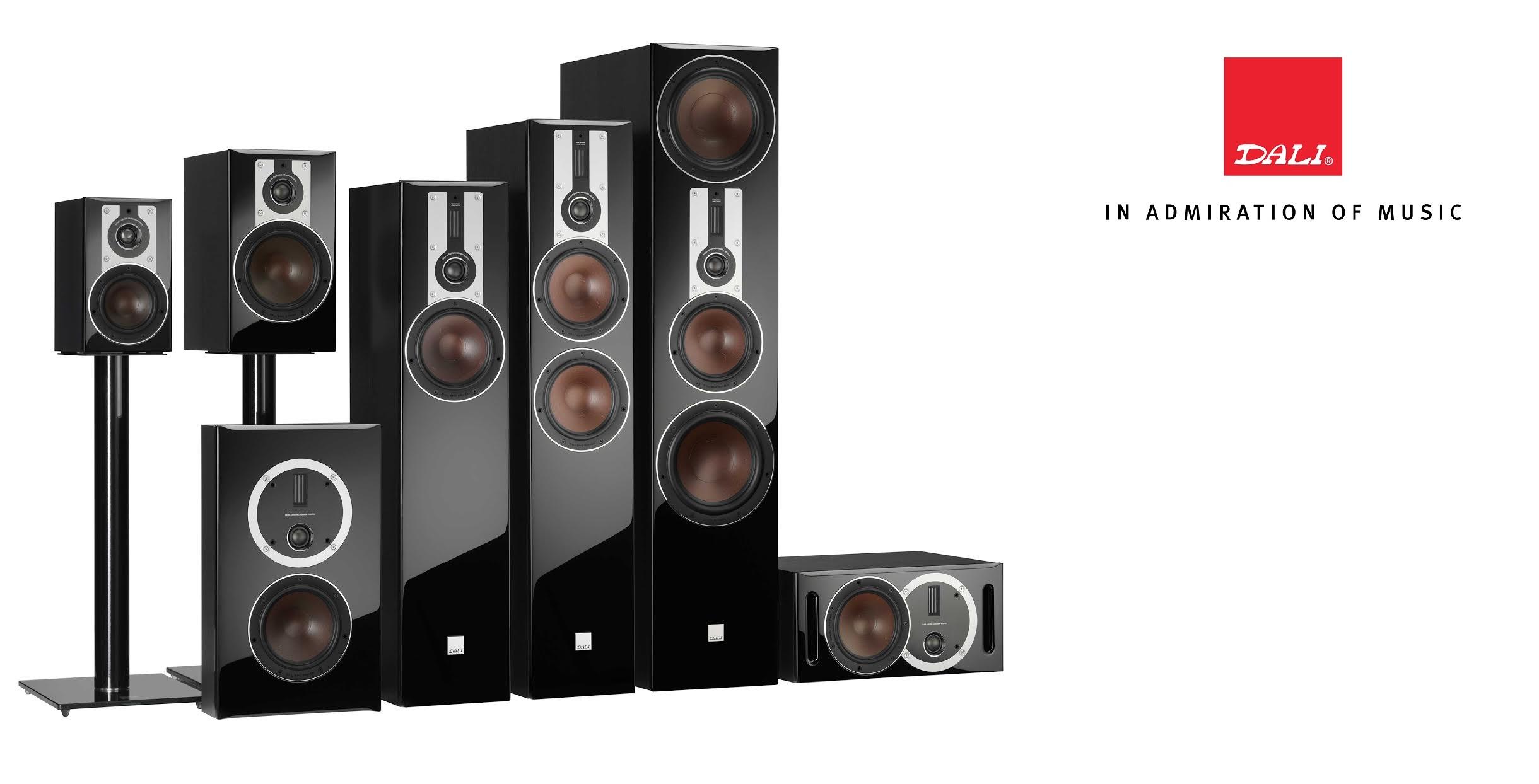 Dali_opticon_loudspeakers
